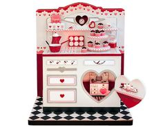 Valentine Stoves Vignette Kit - No Accessories - True2Scale Dollhouse Miniatures