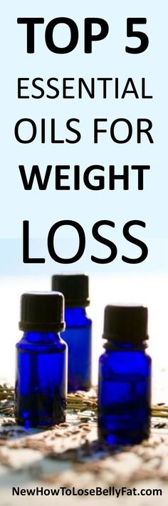 Learn how to use essential oils to boost metabolism, burn fat, and reduce cravings. | NewHowtoLoseBellyFat.com