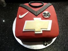 Manchester United Shirt Birthday Cake
