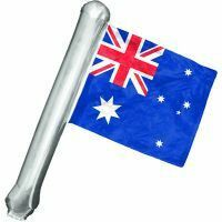 LARGE AUSTRALIAN INFLATABLE HAND POINTING FINGER AUSTRALIA DAY ANZAC SPORTS FLAG