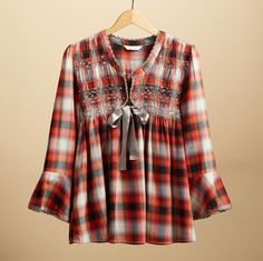 fiona plaid shirt | sundance