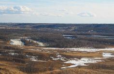 Valley – expansive & majestic. #Manitoba #Canada #viarail