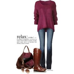 Relax, created by archimedes16 on Polyvore