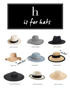 Kendi Everyday: Yes, Please: Summer Hats