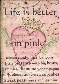 Life in pink...