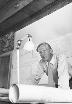 In 1924, the architect Kaare Klint, 1888-1954, became the first Lecturer in Furniture Design in the Royal Academy of Fine Arts in Copenhagen. Read more here: http://denmark.dk/en/meet-the-danes/great-danes/designers/kaare-klint/