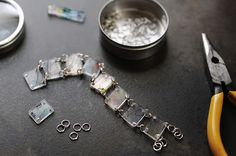 Rust & Sunshine: Shrinky Bracelet