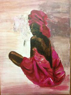 Afrikaanse dame