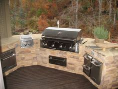 Gallery of Outdoor Fireplace Design   Come stop by our showroom, where you can touch these products and see ...