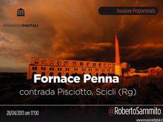Domenica 28 aprile alle 17 invadiamo la Fornace Penna. Contrada Pisciotto, Scicli (Rg) https://www.facebook.com/events/400831486681090/?fref=ts