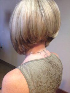 Angled bob cut by Paula