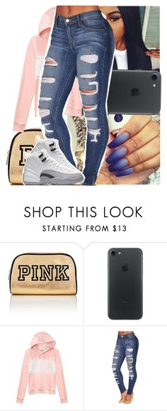 """""""making plays - bali baby"""" by theyknowtyy ❤ liked on Polyvore featuring Victoria's Secret PINK and Victoria's Secret"""