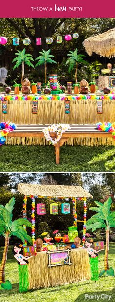 You know it's your backyard, but today it's a destination unknown. Bring the island vibes from day to night with Tiki & Luau themes from Party City. With leis, hula skirts, and Hawaiian shirts, Party City helps you craft your summer get-togethers with a tropical twist.