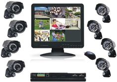 """LYD Technology DVR9158A 8CH H.264 Real-Time DVR 15-Inch LCD and 8 CCD COLOR Water-Resistant Day and Night Network Cameras Kit by LYD Technology. $1149.99. LYD 8CH H.264 Real-Time DVR 15""""LCD and 8 CCD COLOR water-resistant Day and Night Network cameras kit/Support mobile phone surveillance"""