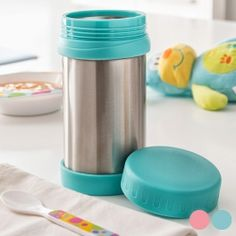 Thermos pour Bébés 500 ml - Gadgets, Microwaves, Bottles, Gifts, Ideas, Vacuum Flask, Games, Stainless Steel, Products