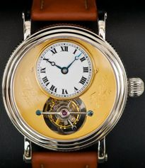 Frank Jutzi watch with tourbillon