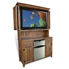 Rustic Shaker Outdoor TV Cabinet 2