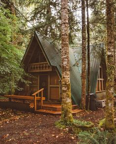 "13k Likes, 159 Comments - FORREST SMITH (@lostintheforrest) on Instagram: ""A cabin in the woods. I'm definitely in need of some quiet and solitude after a stressful week"""