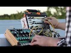 Modular on the Roof 2 - Dreadbox Erebus and Intellijel Atlantis sequenced with Korg SQ1 - YouTube