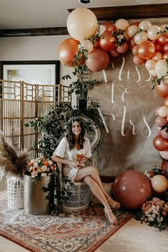 Bridal Shower Ballons, Bridal Shower Backdrop, Bride Shower, Bridal Shower Party, Bridal Shower Decorations, Fall In Love Bridal Shower, Elegant Bridal Shower, Bridal Shower Colors, Bridal Shower Planning