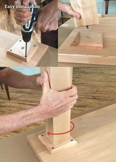 Straightforward Woodworking Projects Tips - Inside Essential Details Of DIY Woodworking - Maxwell's Projects Wood Turning Lathe, Wood Turning Projects, Wood Lathe, Lathe Projects, Wood Projects, Wood Table Legs, Ideas Hogar, Into The Woods, Diy Holz