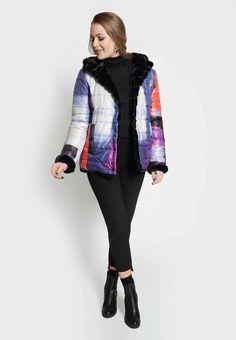 Absolution Reversible Faux Fur Jacket by Claire Desjardins. #clairedesjardins #clairedesjardinsart #ClaireDesjardinsApparel #DesignerJacket #JeanJacket #cami #WomensApparel #WearableArt #designerclothing #apparel #designerapparel #artandfashion #fashionandclothing #artonclothing #abstractart #abstractpainting #designerclothes #womensapparel #Tunic #Dress #Jacket #MotoJacket #WomensTop #Scarf #Dress #Blouse #Fall2019 #Winter2019 #FallWinter2019