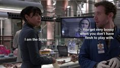 "Cam straight-up putting people in their place. | The 23 Best Things About ""Bones"""