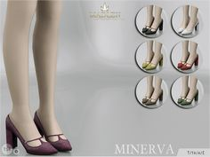 The Sims Resource: Madlen Minerva Shoes by MJ95 • Sims 4 Downloads
