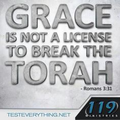 Grace is not a free pass to sin. ( Romans 6:15)