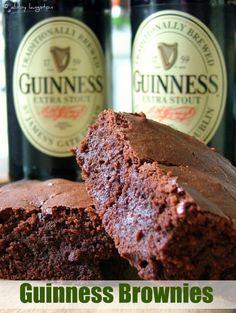 Guinness brownies @Principessa Shawnee