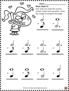 24 worksheets aimed at reinforcing students' understanding and knowledge of note and rest values.        #musiceducation     #musedchat