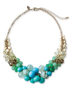 turquoise necklace by Lia Sophia $118