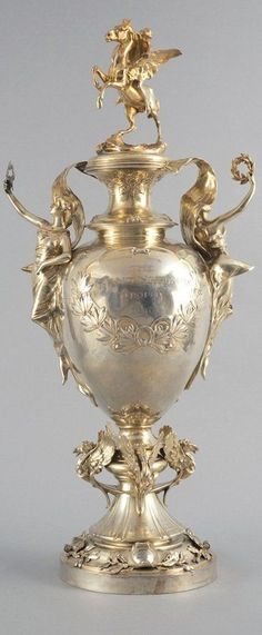 The Grand National trophy of 1910