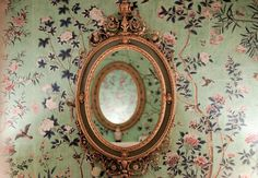 white decor white home decor ideas white home decor home decor home decor Mirrored Wallpaper, Of Wallpaper, The Bell Jar, Adventures In Wonderland, Alice In Wonderland, Ivy House, Were All Mad Here, Howls Moving Castle, Through The Looking Glass