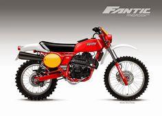 """Motosketches: FANTIC MOTOR """"CABALLERO REGOLARITA'"""" 450"""