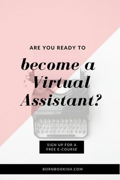 Do you have it in you to become a Virtual Assistant? The only things that you… Home Based Jobs, Work From Home Jobs, Make Money From Home, How To Make Money, How To Become, Home Based Business, Business Tips, Online Business, Virtual Assistant Services
