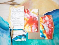 bold-watercolor-wedding-invitation-hand-painted
