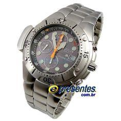 ed3762a7aff BJ2040-55E Relógio de Pulso Citizen Aqualand EcoDrive Promaster 12x sem  juros. Aceitamos Paypal