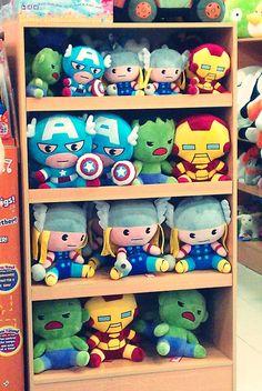 Adorbs Avenger plushies!