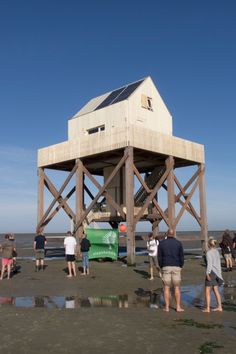 Accoya® Wood at a rescue house in Waddenzee, the Dutch Sea from Accoya