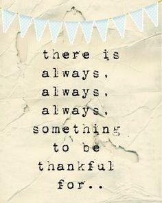Hoy agradezco...