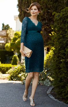 Chloe Maternity Lace Dress Dragonfly - Maternity Wedding Dresses, Evening Wear and Party Clothes by Tiffany Rose. Maternity Bridesmaid Dresses, Maternity Gowns, Maternity Fashion, Maternity Style, Maternity Wedding, Wedding Dresses, Tiffany Rose, Pregnant Party Dress, Pretty Pregnant