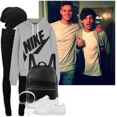 day off with Louis - Polyvore