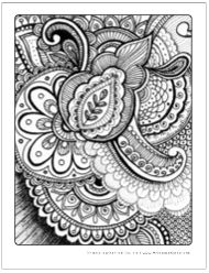 intricate adult coloring pages for free to download and print