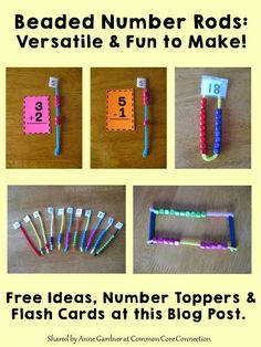 Beaded Number Rods