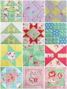 Farmer's Wife Favorites, Fussy Cuts & Failures - Pretty by Hand - Pretty By Hand