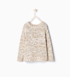 Image 2 of Multicolored knit sweater from Zara