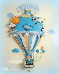 Resultado de imagen de balão ar quente feltro