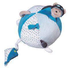 Balle Lazare pour jouer avec bébé !