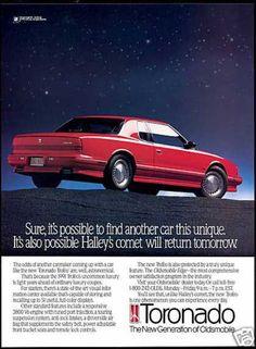 Red Oldsmobile Trofeo Car Photo (1991)
